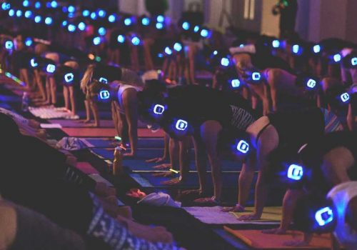 THERE'S A SILENT YOGA DISCO HAPPENING THIS MONTH!