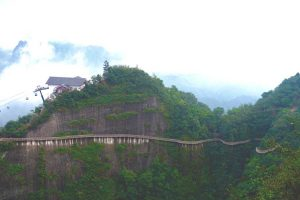 Bajiaozhai-cable-car,by-Johanna-Read-TravelEater.net