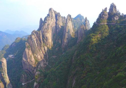 If-you-look-closely-you-can-see-some-of-the-paths-you-climb-at-Mount-Sanqingshan,-China.-Photo-by-Johanna-Read-TravelEater.net