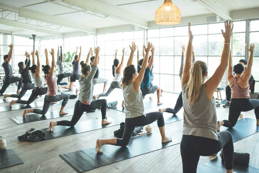 Free yoga events sydney